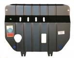 Защита картера и КПП (двигателя и коробки) Митсубиси Кольт (2009-) (сталь 2мм)