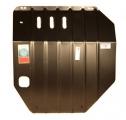 Защита картера и КПП (двигателя и коробки) Ниссан Примера (2001-) (сталь 2мм)