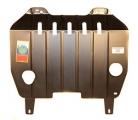 Защита картера и КПП (двигателя и коробки) Ниссан Тиана (2003-2008) (сталь 2мм)