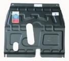 Защита картера и КПП (двигателя и коробки) Chevrolet Cobalt (2013-) (сталь 2мм)