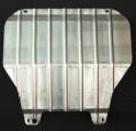 Защита картера двигателя и КПП для VOLKSWAGEN Caravelle 2003- алюминий