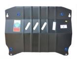 Защита картера и КПП (двигателя и коробки) Сузуки Свифт (2011) (сталь 2мм)