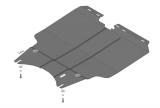 Защита (двигатель, КПП) Lifan X60/X70 2012> (стальная 2 мм)