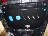 Защита картера + крепеж Hyundai Solaris/KIA Rio 1.4/1.6i 11>