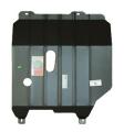 Защита картера и КПП (двигателя и коробки) ЗАЗ Шанс (2011) V-1.4 (сталь 2мм)