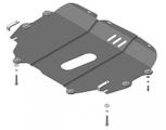 Защита (двигатель, КПП) стальная 2 мм Д; КПП; Сhangan Eado c 2013