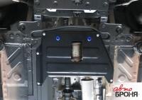 Защита кислородного датчика + крепеж,  Сталь, Nissan Terrano 2016-, V - 1.6; 2.0; полный привод/Renault Duster 2015-, V - 1.6; 2.0; полный привод/Renault Kaptur 2016-, V - 2.0; полный привод