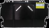 Защита (двигатель, КПП) Renault Fluence 2010-; 1,6i, 1,5dCi, 2,0i; сталь 2 мм; вес 6,2кг; щитов: 1