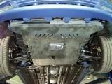 защита {картера и КПП} CHEVROLET Rezzo (2004 - 2008) 1,6; 2,0 ; сталь 2 мм, Гибка, 12,93кг., 1 лист