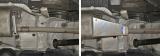Защита глушителя  , Volkswagen Caravelle V - 2.0 TDI, 2010-, крепеж в комплекте, алюминий, ()