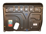 "Защита картера двигателя и КПП TOYOTA ""Corolla"" (2007-) 1.3л, ""Auris"" (2006-) 1.3л"