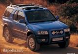 Защита картера Frontera 1999 -2003 2.2D,3.2