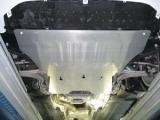 Защита картера двигателя и КПП AUDI A4 B8 большая c гидроусилителем руля 2008-2013 V-все