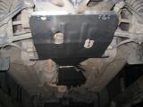 Защита КПП и раздатки Chevrolet Niva/Шевроле Нива 1.7 (2002-) (сталь 2мм, 2 части)