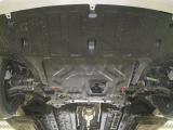 Защита картера двигателя и кпп Hyundai Solaris (Хёндай Соларис) V-все (2017-)/KIA Rio (V-все, 2017-)