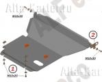 Защита картера и КПП Toyota Crown S150/170 4WD Mark Blit 2002-2007