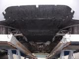 Защита картера двигателя AUDI A4 B8 большая с электроусилителем руля 2013- V-все