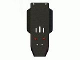защита {КПП и РК} CHEVROLET Tracker (2000 - 2004) 1,6; 2,0 ; алюмин. 5 мм, Гибка, 4,9кг., 1 лист