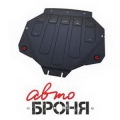 Защита картера и КПП  ACURA MDX III V - 3.5, 2013-, крепеж в комплекте, сталь