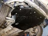 Защита картера и КПП для VOLKSWAGEN Caddy/Golf III, 1 991-1 997, 1H, сталь
