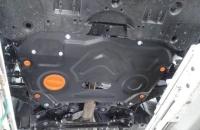 Защита картера двигателя и КПП Тойота Камри 2018- V-все (сталь 2мм)