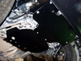защита {картера} INFINITI QX 56 (2004 - 2010) 5,6 (кузов: JA60) сталь 2,5 мм, Гибка, 17,13кг., 2 лис