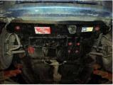 Защита {картера и КПП} MAZDA Demio правый руль (1996 - 2002) 1,3 (кузов: DW3W) сталь 2 мм, Гибка, 10