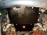 Защита {рул. и карт.} TOYOTA Land Cruiser 90 3х-5ти дверн. (1996 - 2001) 3,0 TD; 3,0 D-4D; 3,4i АТ сталь
