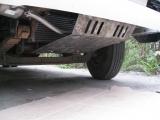 Защита радиатора для Hyundai HD-78 , V-3,9 (сталь 2 мм)