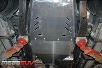 защита {АКПП} INFINITI QX 56 (2004 - 2010) 5,6 (кузов: JA60) сталь 2,5 мм, Гибка, 24,94кг.,