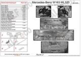 MB W163 ML 320 (3 части) 1997-2005 3,2