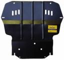 Защита (двигатель, КПП) Skoda Superb; 2010>; все объемы; Yeti 2010-; все объемы, VW Caddy 2010-;