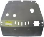 Защита алюминиевая Мотодор 35003 Toyota Highlander