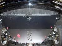 защита {картера и КПП} KIA Opirus (2003 - 2007) 3,5 ; сталь 2,5 мм, Гибка, 17,43кг.,