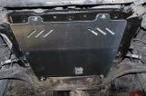 Защита картера и КПП для NISSAN Xtrail T31/ Qashqai , 2 006-2 014, J10, сталь
