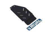Защита КПП + комплект крепежа, RIVAL, Сталь, устанавливается совместно с 333.5408.1, Subaru Legacy 2019-,V - 2.5/Subaru Legacy 2010-2015,V - 2.0; 2.5/Subaru Outback 2010-2015,V - 2.0; 2.5