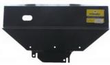 Защита двигателя,переднего дифференциала,радиатора Toyota Estima V-2,2 (1990-2000) (2 мм, Сталь)