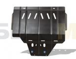 защита картера и крепеж, подходит для SUBARU Forester (13-18) 2,5 бен.