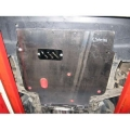 Защита {картера и КПП} Chrysler Sebring /DODGE Avenger (2007 -) 2,0; 2,4 (кузов: SD) сталь 2,5 мм, Гибка, 15,8кг., 1 л