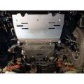Защита {рул. и карт.} TOYOTA Land Cruiser 120 (Prado) без штатной защиты (2005 - 2009)