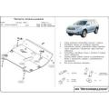 Защита {картера и КПП} TOYOTA Highlander/Kluger (2000 - 2007) 2,4 (кузов: U20) алюминий
