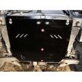 защита {картера и КПП} CHEVROLET Evanda (2000 - 2006) 2 (кузов: KLAL) сталь 2 мм, Гибка, 10,5кг., 1